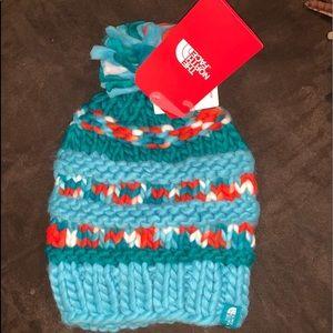 NWT nanny knit beanie! North face